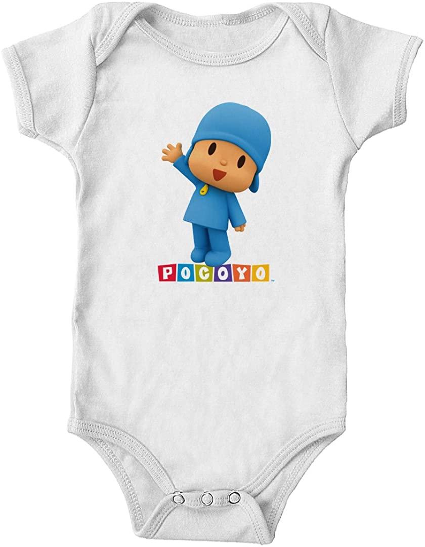 Pocoyo - Pocoyo Waving Official Logo Infant Bodysuit