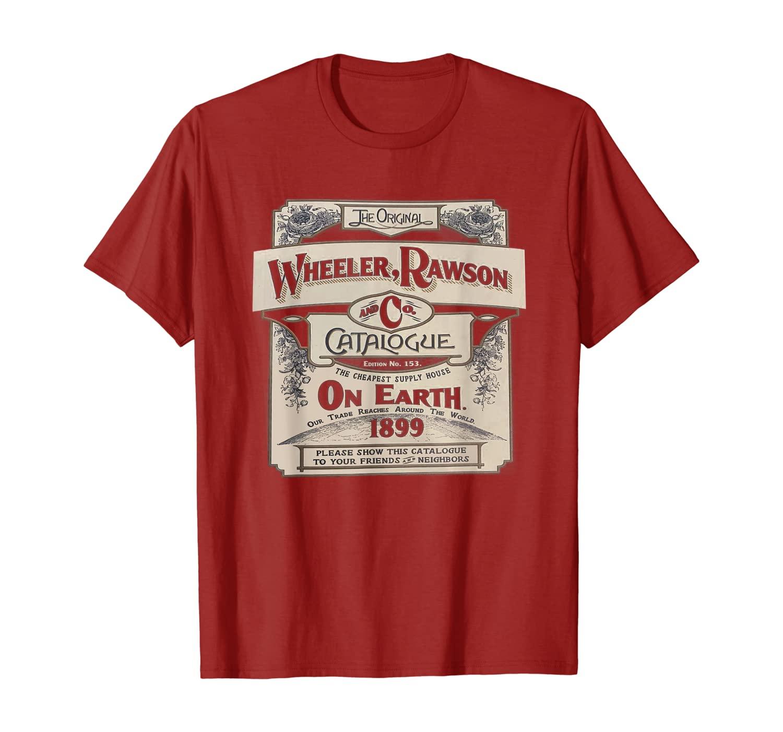 Wheeler Rawson Catologue RDR2 Style Gaming T Shirt