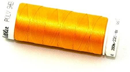 Mettler Polysheen Polyester Machine Embroidery Thread 200m 200m 702 Papaya - each