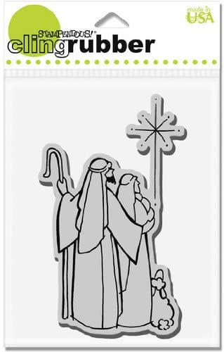 Cling Holy Family - Cling Rubber Stamp