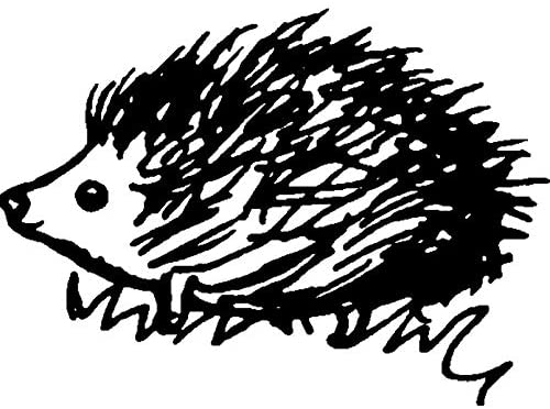 A8 'Hedgehog' Unmounted Rubber Stamp (RS00017113)