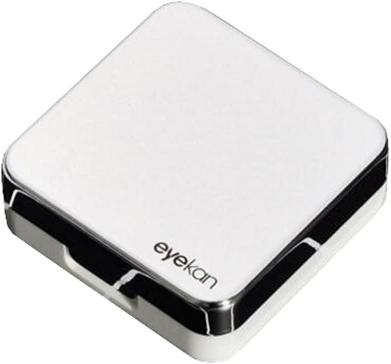 Travel Portable Contact Lens Case Fashion Eye Care Kits Box-White
