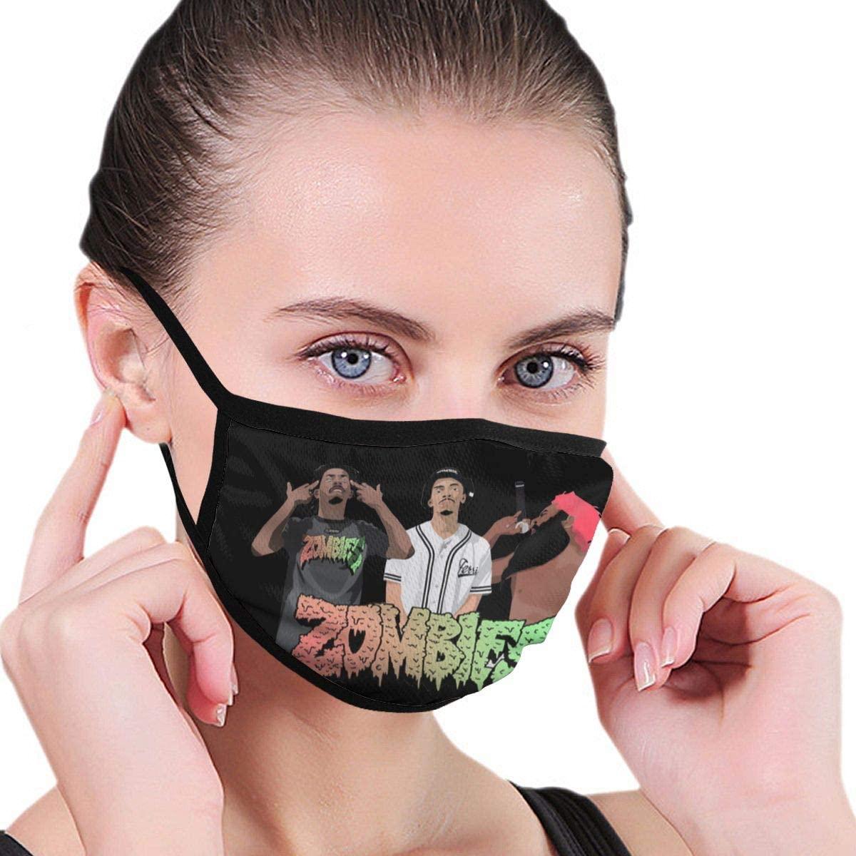 Flatbush Zombies Unisex Fashion Face Bandanas Head Band Wears Scarf Face Tube Neck Scarf
