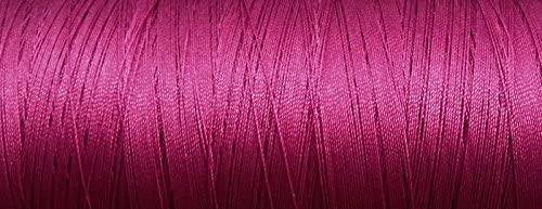 T-70/#69 A&E Bonded Nylon HEAVY sewing thread. Available in 40 different colors & 5 cone sizes. (100 yds, Fuschia)