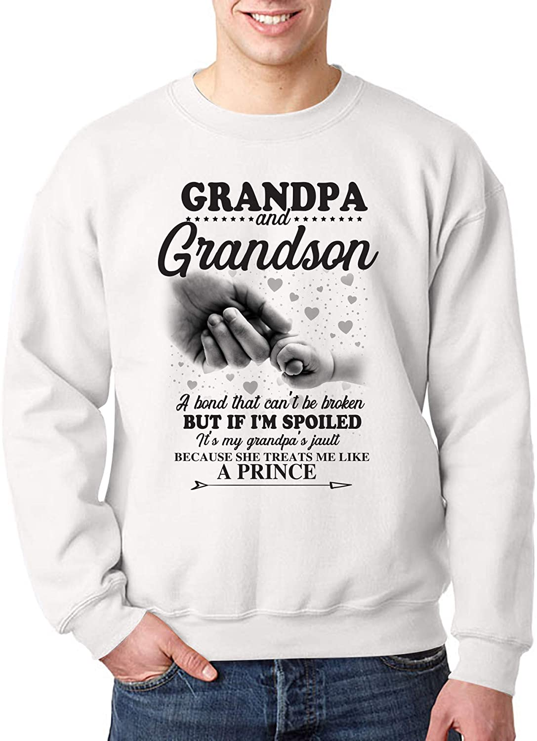 Grandpa and Grandson A Bond That Can't Be Broken