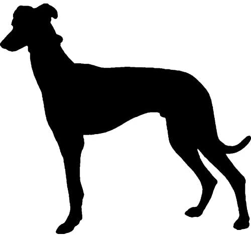 Azeeda A8 'Greyhound Silhouette' Unmounted Rubber Stamp (RS00028116)