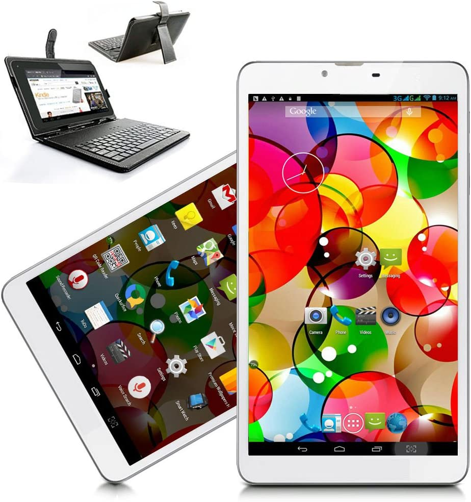 Indigi Unlocked 7-inch Tablet 4G LTE Smart Phone Phablet Official Android Pie OS WiFi Google Play Store