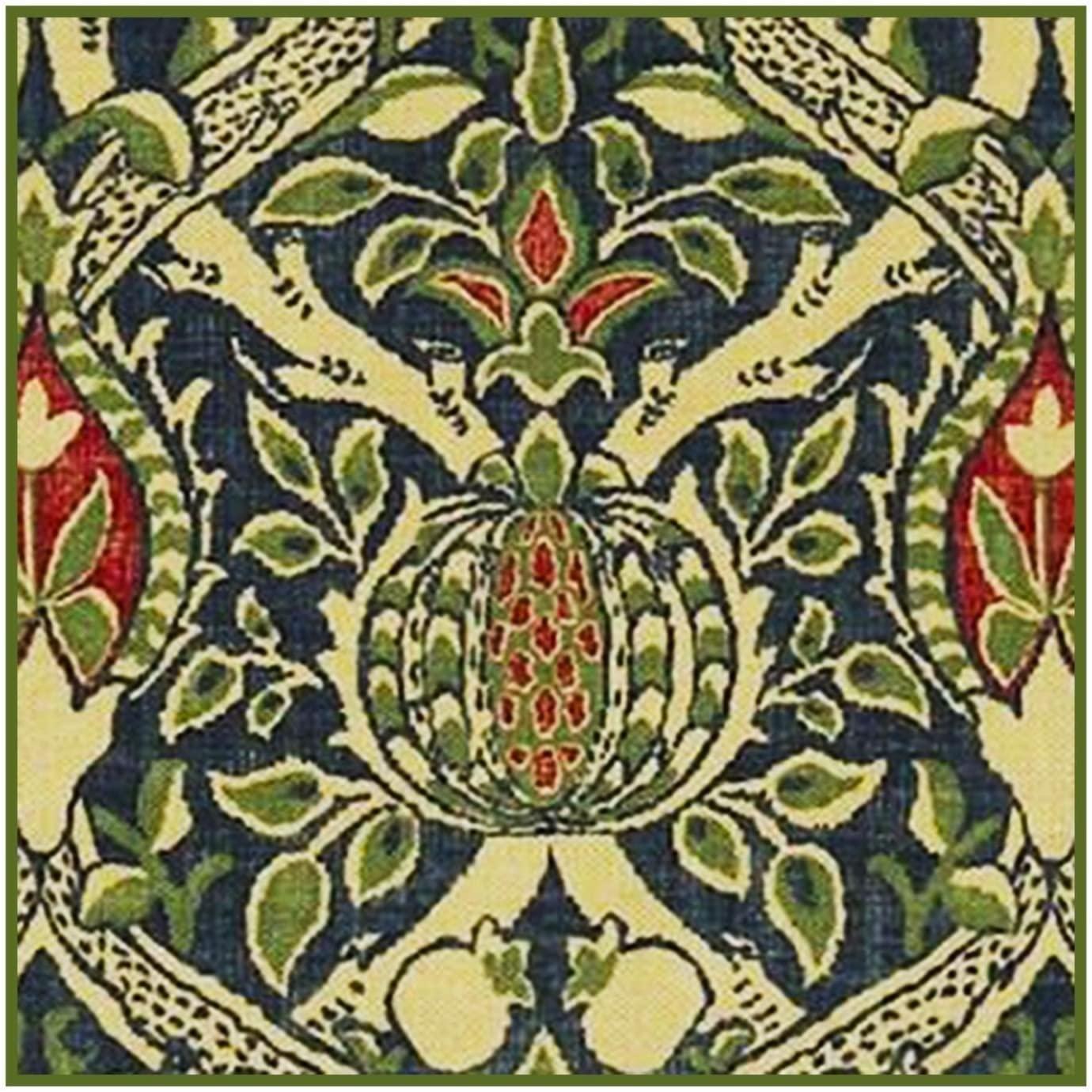 Orenco Originals Granada Detail 3 William Morris Design Counted Cross Stitch Pattern