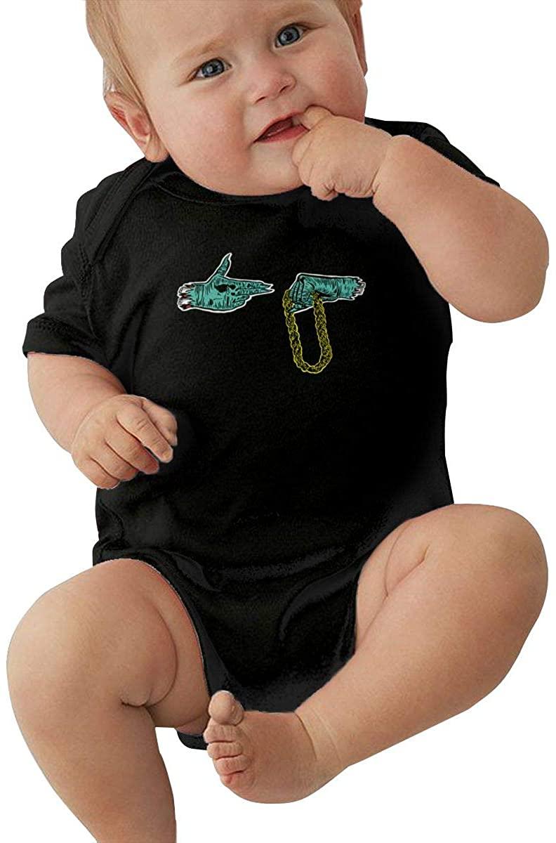 DianaHodge Vintage-Run-The-Jewels-El-P-Killer-Mike Infant Bodysuit Creeper Baby Romper Jumpsuit Short-Sleeve Onesie