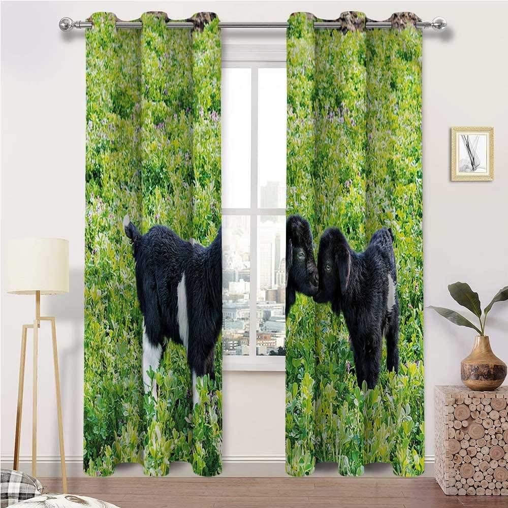 Outdoor Curtains for Patio Waterproof Animal Top Grommet Window Drapes Nature Hills Garden Set of 2 Panels, 108 Width x 108 Length