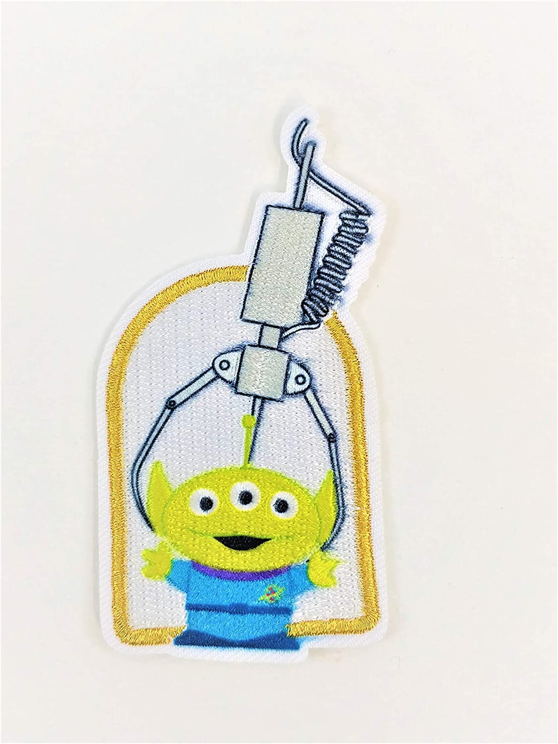 Pixar Toy Story Alien Claw Embroidered Iron On Sew On Patch Applique