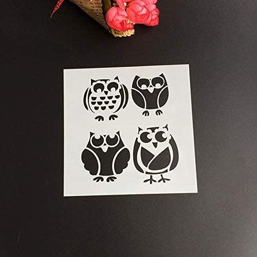 Plastic Layering cat Spray Stencils Template DIY Paper Card Scrapbooking Photo Album Diary Hand Craft