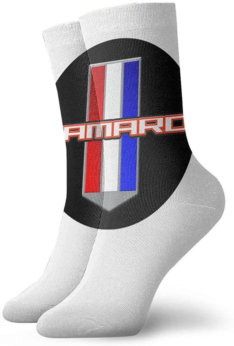 Unisex Camaro Performance Car Athletic Stockings Crew Socks Sports Outdoor For Men Women