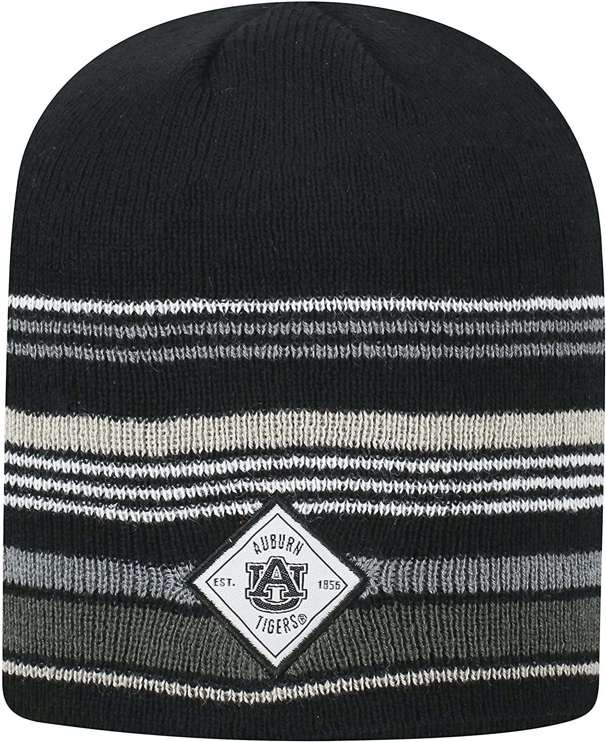 Top of the World Auburn Tigers Official NCAA Uncuffed Knit Avenue Stocking Stretch Sock Hat Cap Beanie 463605