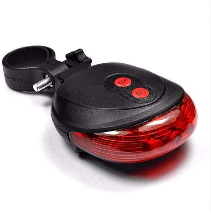 LED Flashing Lamp Tail Light Rear Cycling Bicycle Bike Safety Warning Outdoor