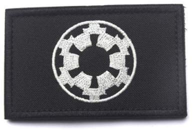 Star Wars Imperial Galactic Embroidery Patch Military Tactical Morale Patch Badges Emblem Applique Hook Patches for Clothes Backpack Accessories