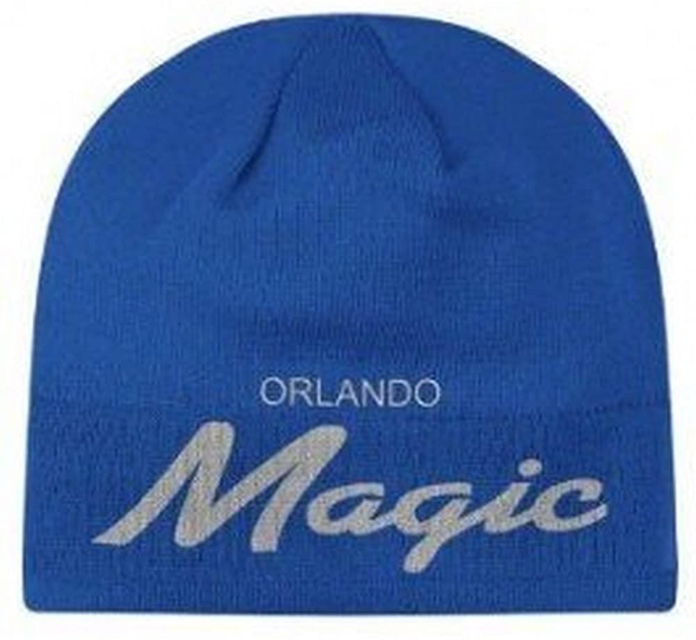 NBA Officially Licensed Orlando Magic Blue Beanie Hat Cap Lid Toque