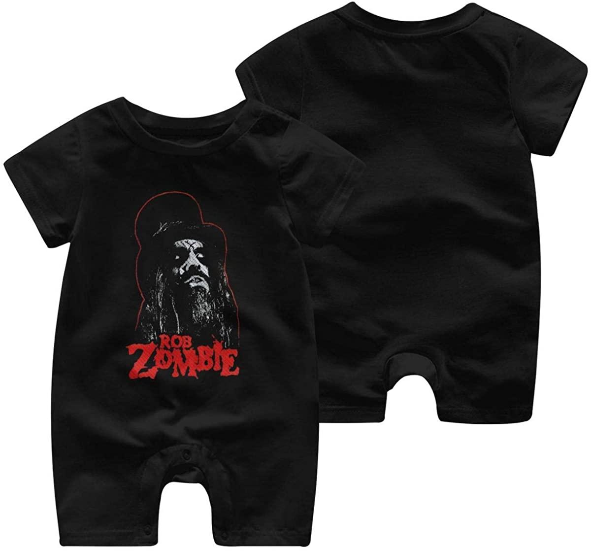Qwertyi Rob Zombie Baby Jersey Boys Girls Jumpsuit Bodysuit