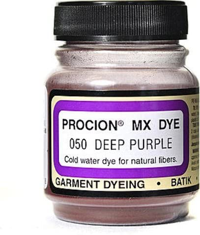 Jacquard Procion MX Fiber Reactive Dye (Deep Purple) 3 pcs sku# 1840695MA