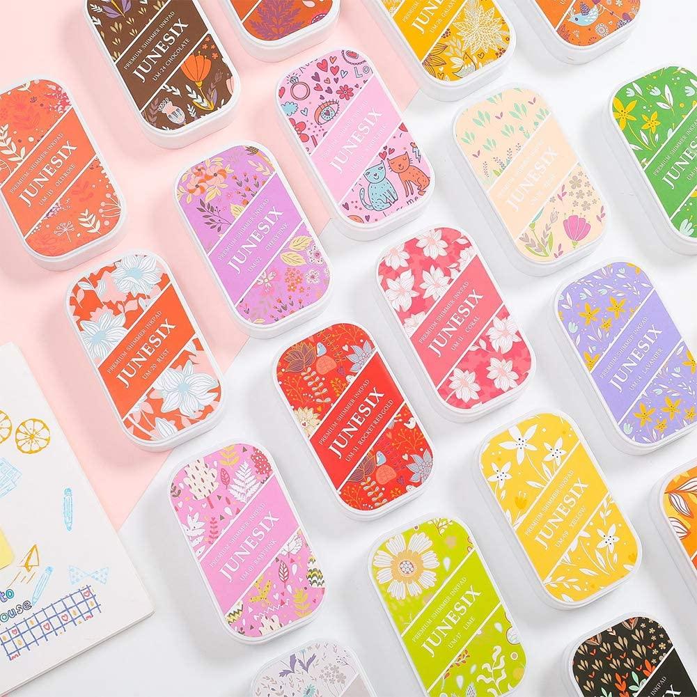 AKDSteel UM Metal Color Ink Pad for DIY Handcraft Rubber Stamps Scrapbooking for Students