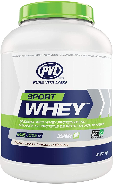 Pvl Nutrients Essentials Iso Sport Wheytm, Creamy Vanilla, 5 lb