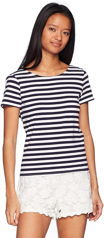 Rip Curl Women's Essentials 2way Stripe Short Sleeve Top