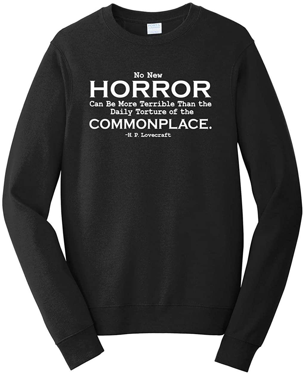 Tenacitee Mens Daily Torture of The Commonplace Sweatshirt