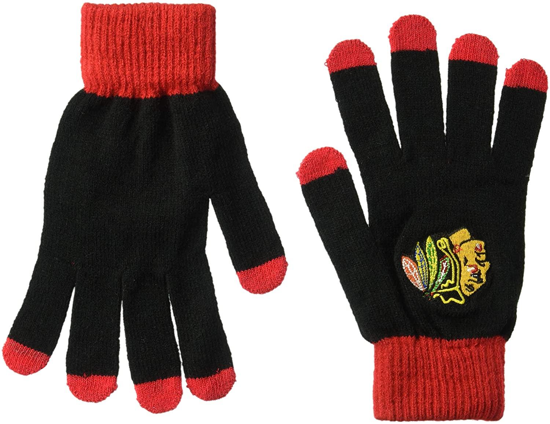 FOCO NHL Solid Knit Glove