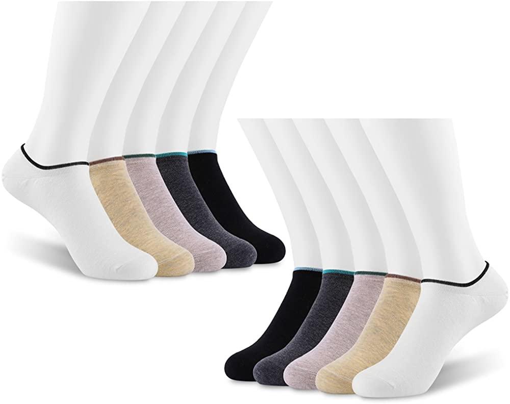 No Show Socks for Men, Women Variety Color (10 Pack)