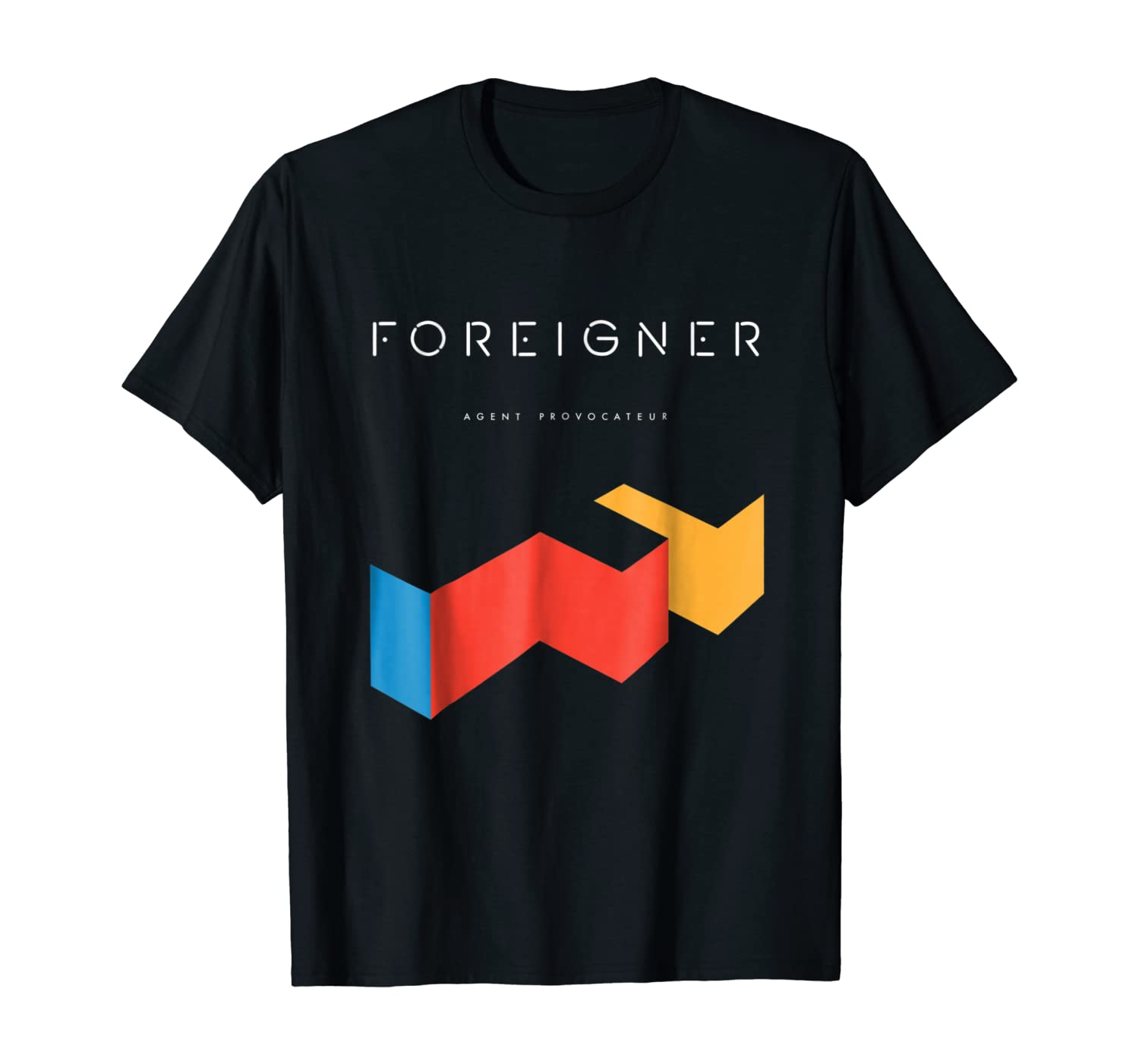 Foreigner Agent Provocateur Album Tee Officially Licensed