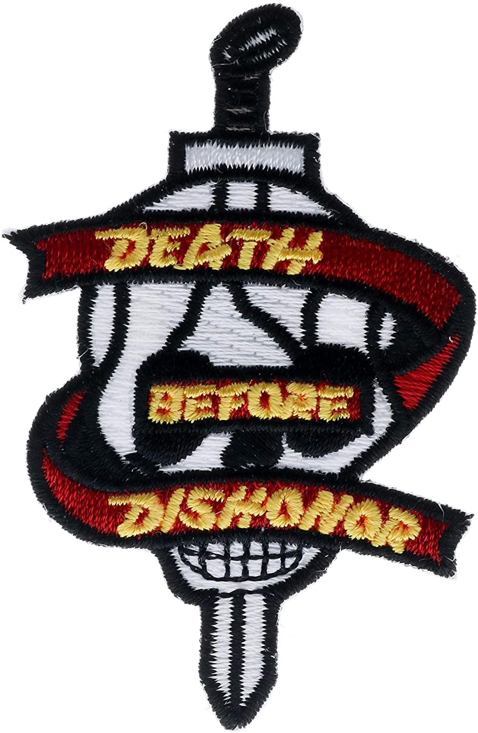 Death Before Dishonor Skull and Sword 2.5