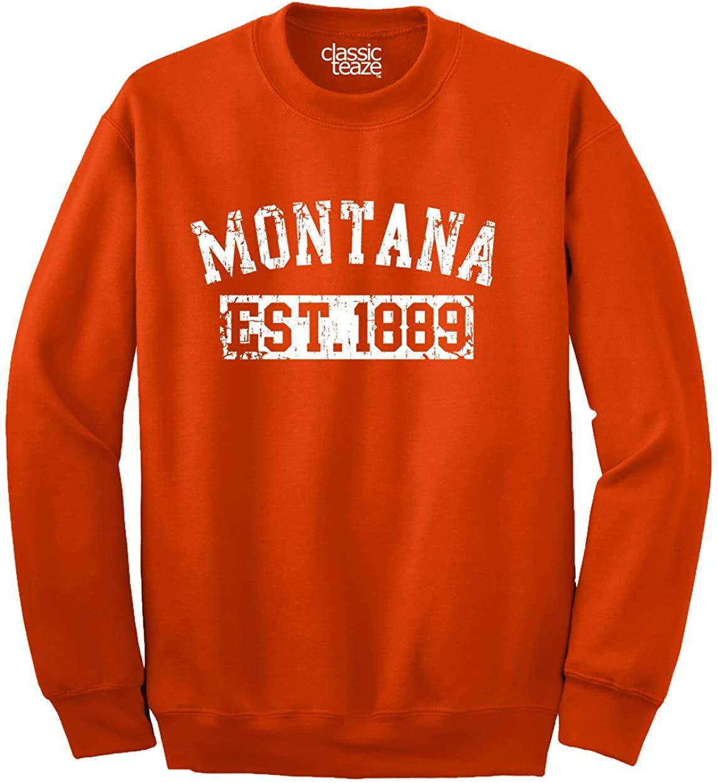 Montana Original Travel Tourist Souvenir Crewneck Sweatshirt