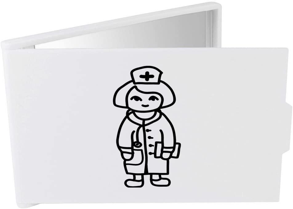 Azeeda 'Friendly Nurse' Compact / Travel / Pocket Makeup Mirror (CM00016441)