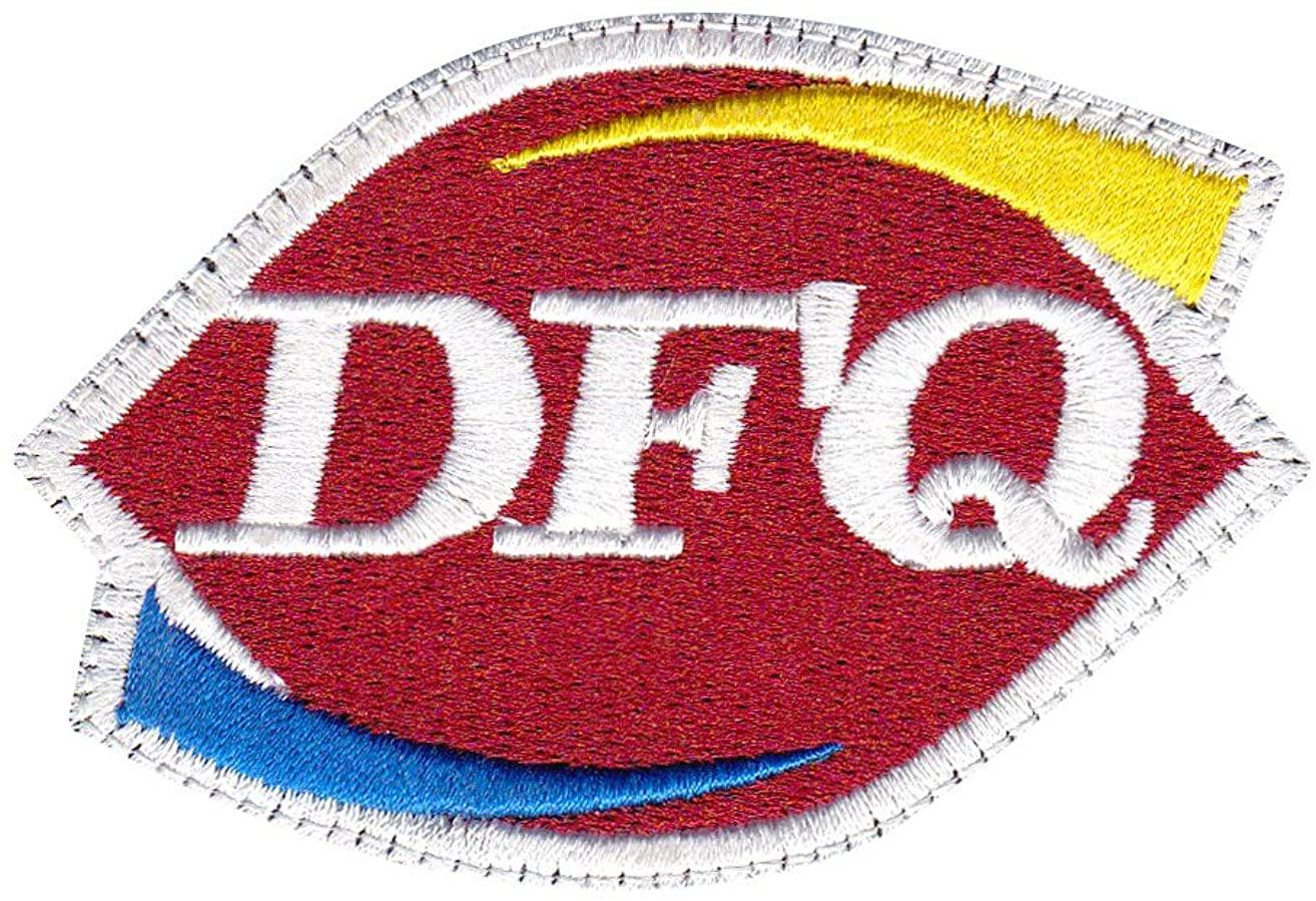 Dfq Dafuq? What The F Dairy Queen Parody Patch