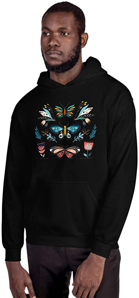Butterfly Crazy Unisex Hoodie