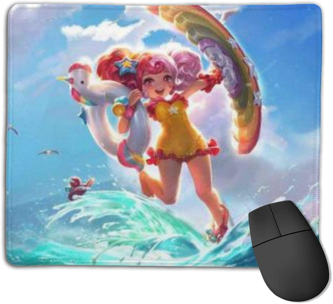King Glory Customized Designs Non-Slip Rubber Base Gaming Mouse Pads for Mac,22cm×18cm, Pc, Computers. Ideal for Working Or Game