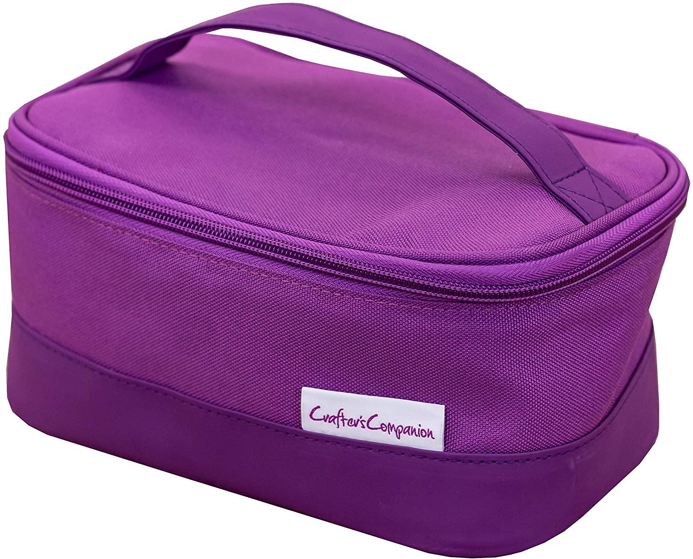 Crafters Companion Gemini Mini Storage Bag-Purple, us:one size