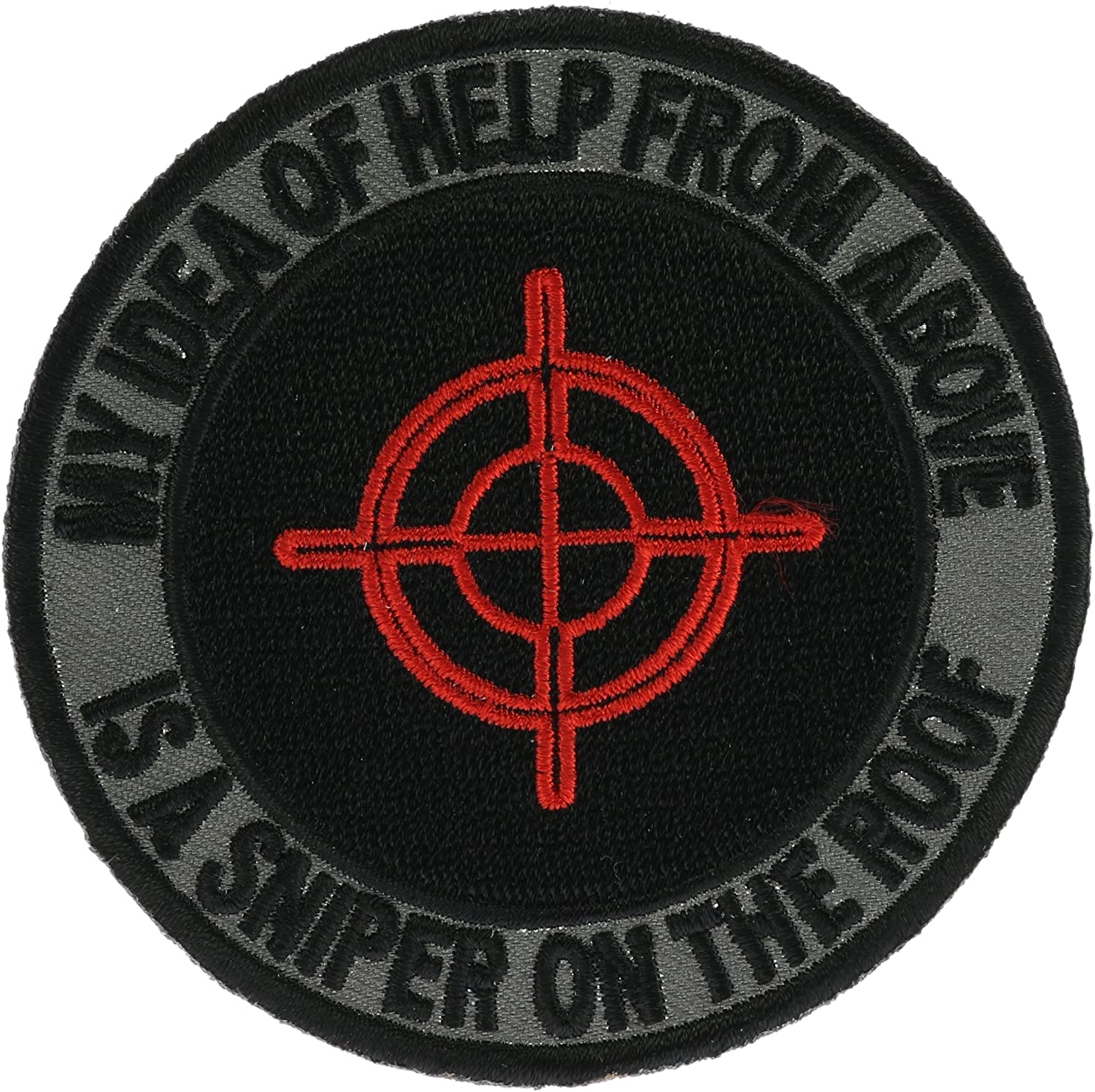 My Idea of Help From Above. 3 inch Patch IvanP3972