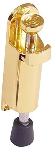 BRINOX Retainer Vertical Door, See Description, Gold, 2.7x 12x 3.3cm