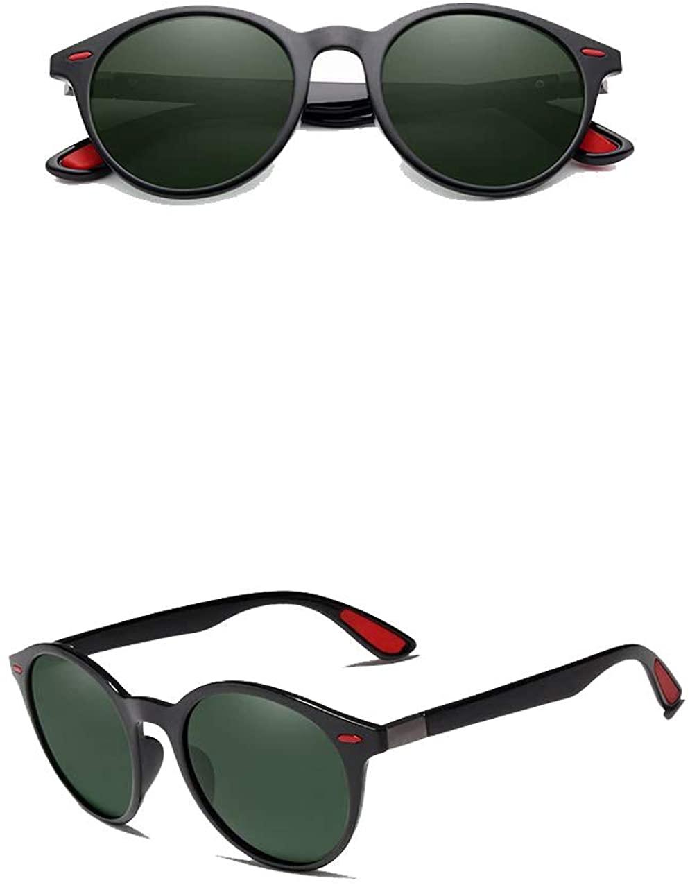 Genuine Kingseven TR90 Tough Polarized Sunglasses For Men and Women Round Fashion