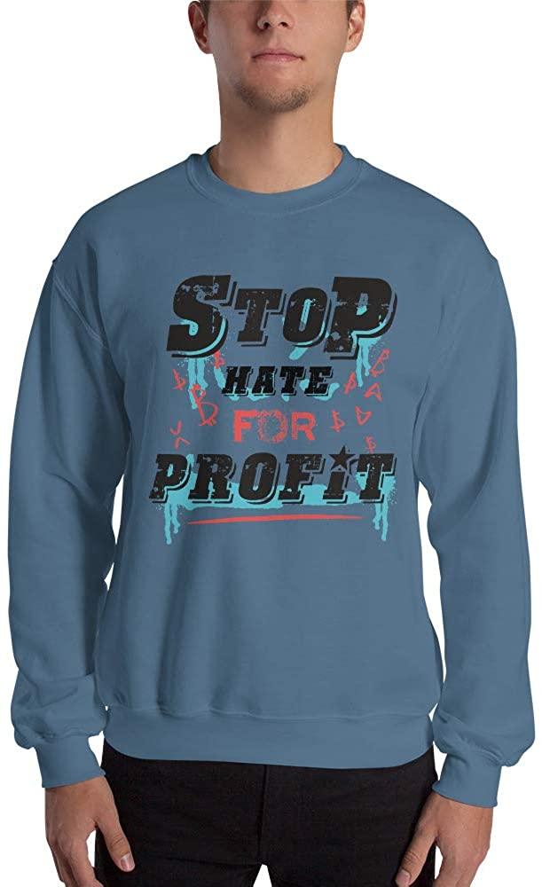 Stop Hate Profit Unisex Sweatshirt Sweatshirt Sweater Jumper
