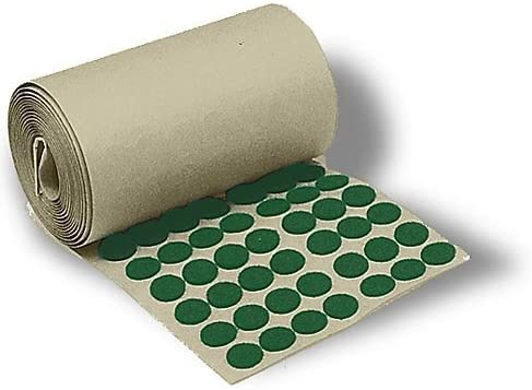 National Artcraft Felt 3/4 Diameter Pads with Adhesive Back Cushions and Protects Surfaces (Pkg/2000)