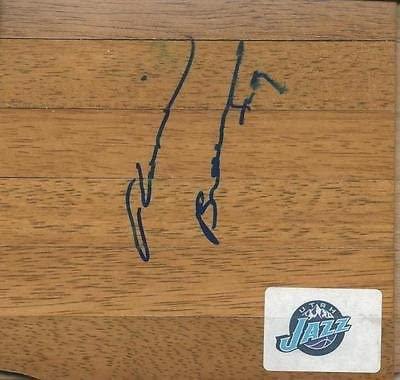 Ronnie Brewer Signed Floorboard Bulls Arkansas Jazz