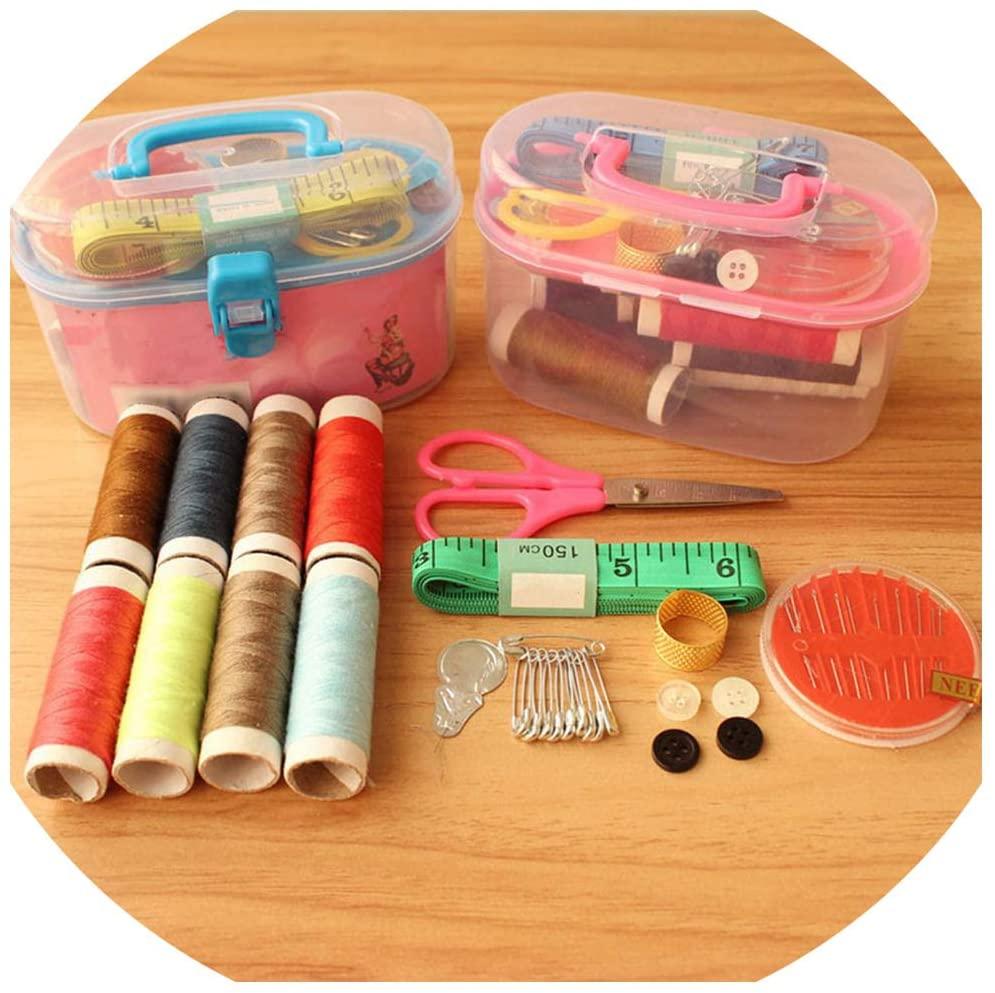 S-D-A Sewing Box Kit Portable Sewing Box,Random