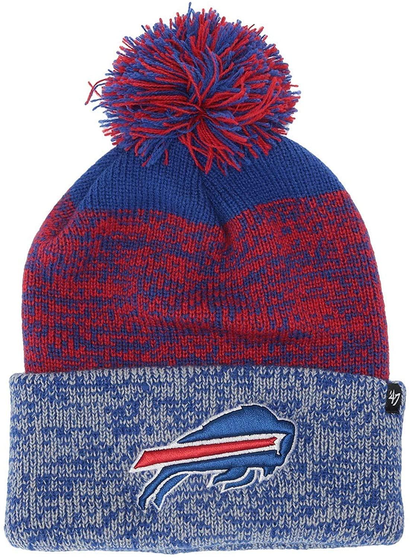 '47 NFL Buffalo Bills Static Cuff Knit Sonic Blue One Size