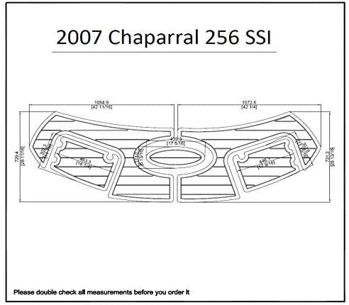 2007 Chaparral 256 SSI Swim Platform Pad 1/4