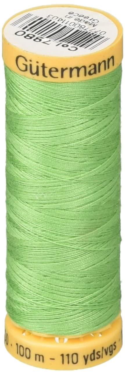 Gutermann Natural Cotton Thread 110 Yards-Green