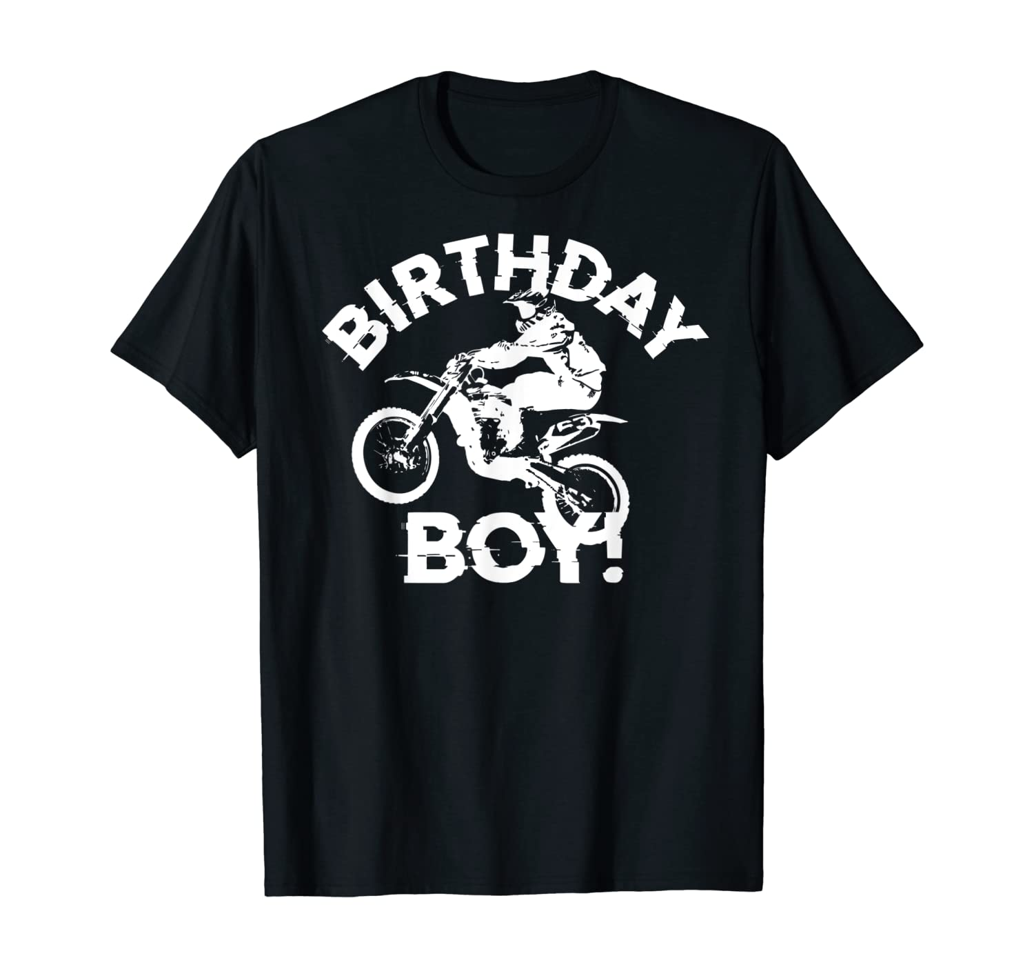Dirt Bike Motocross Rider B-day Boy Extreme Birthday Shirt