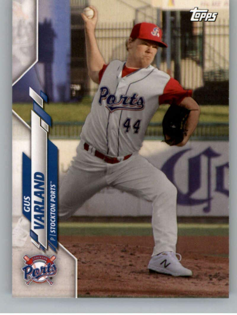2020 Topps Pro Debut #PD-45 Gus Varland Stockton Ports Baseball Card