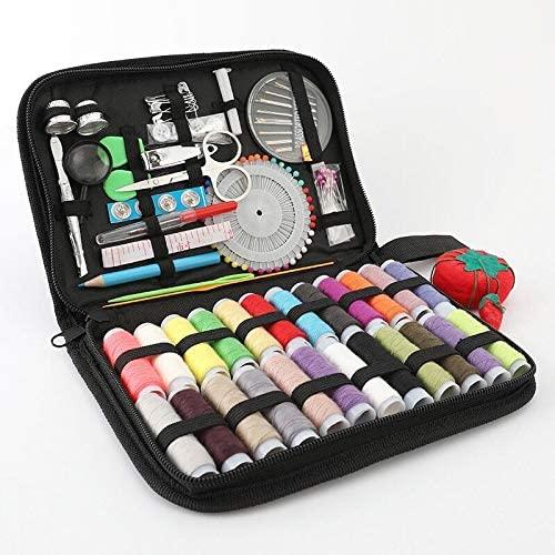 Travel Sewing Kit (Black, 21.5×14.5×3.5)